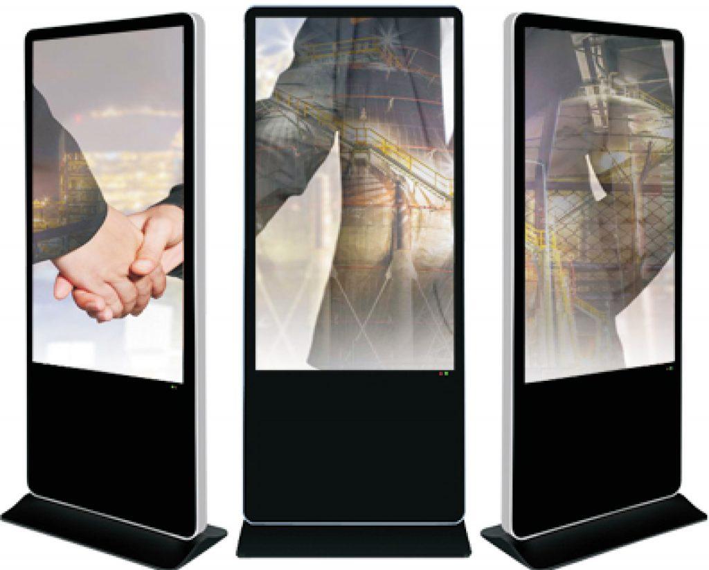 จอคีออส (Kiosk) แบบทรัชกรีน (Touch Screen) และไม่ทรัชกรีน (Non Touch Screen)